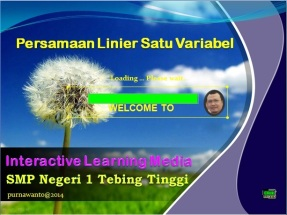 Persamaan Linier Satu Peubah